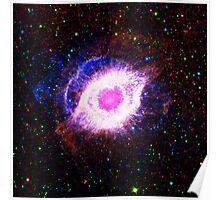 Helix Nebula Triangle | Fresh Universe Poster