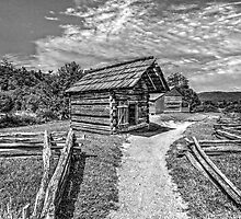 A Settlers Homestead by LarryB007