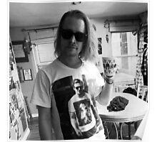 Macaulay Gosling - t-shirt of Macaulay Culkin wearing a t-shirt of Ryan Gosling wearing a t-shirt of Macaulay Culkin Poster