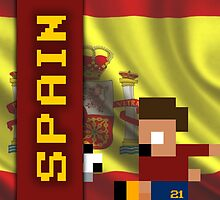 World Cup 2014: Spain by pixsoccer