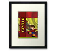 World Cup 2014: Spain Framed Print