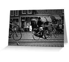 A way of life: Delft, The Netherlands Greeting Card