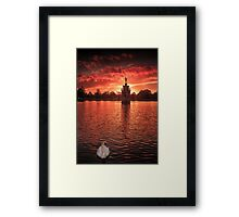 Perquisition - London Lights Framed Print