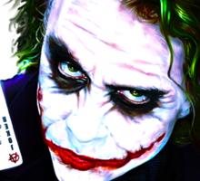 The Joker Madness-Batman Quote  Sticker