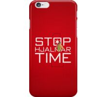 Stop, Hjalmar Time iPhone Case/Skin