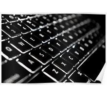 Backlit Keyboard Poster