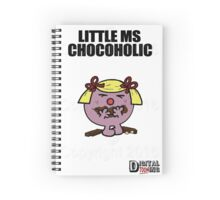 Little Ms Chocoholic Spiral Notebook