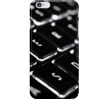Backlit Keyboard iPhone Case/Skin