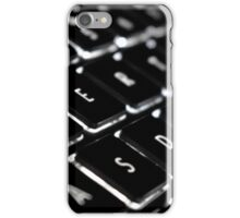 Backlit Keyboard iPhone Case/Skin