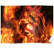 Jar-Eekin in Fire Poster