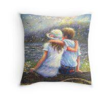 SUMMER LOVE YOUNG LOVE Throw Pillow