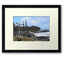 Coastal Plants and Foliage Framed Print