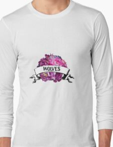 WOLVES™ FLORAL Long Sleeve T-Shirt