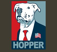 Feel The Hooper (Red White and Hopper) Unisex T-Shirt
