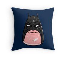 The Bat-Ham of Goth-Ham City Throw Pillow