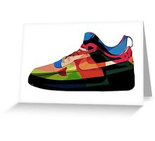 Air Force Ones Greeting Card