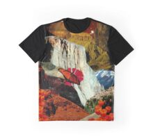 Cliffs Colliding Graphic T-Shirt