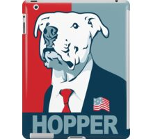 Feel The Hooper (Red White and Hopper) iPad Case/Skin