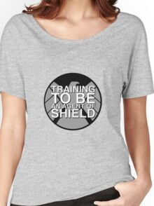 Training to be an Agent of Shield Women's Relaxed Fit T-Shirt