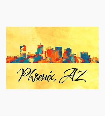 Phoenix Skyline Photographic Print