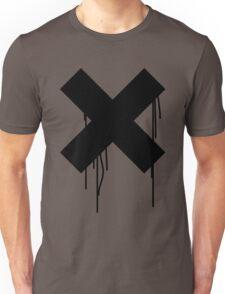 X graffiti drip Unisex T-Shirt