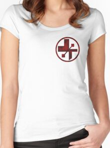 star wars- medical symbol Women's Fitted Scoop T-Shirt