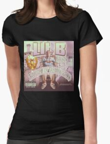 Lil B - Trapped In Basedworld   JAKKOUTTHEBXX Womens Fitted T-Shirt