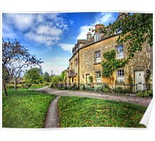 Lower Slaughter Cottages Poster
