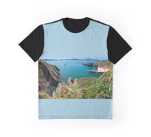 St. Justinian, Wales. Graphic T-Shirt