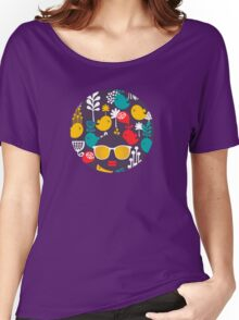 Colorful birds Women's Relaxed Fit T-Shirt