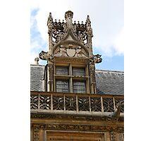 Ornate window Photographic Print