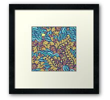 Floral abundance Framed Print