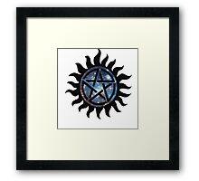 Anti possession symbol Framed Print