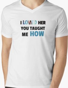 Loved Her - Root & Machine Mens V-Neck T-Shirt
