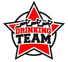 Drinking Team Star Logo by Style-O-Mat