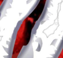 claw ripped - wolverine - Godzilla - dinosaur - etc Sticker
