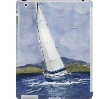 Sail away iPad Case/Skin