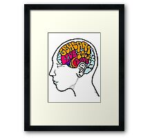 Brain Health Framed Print