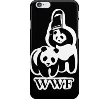 WWF panda parody iPhone Case/Skin