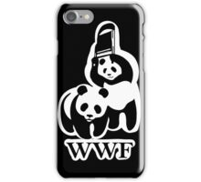 WWF panda parody iPhone Case/Skin