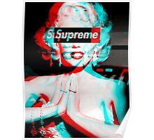 Supreme Marilyn Monroe Poster