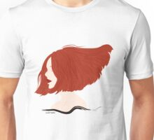 Hair in the wind Unisex T-Shirt
