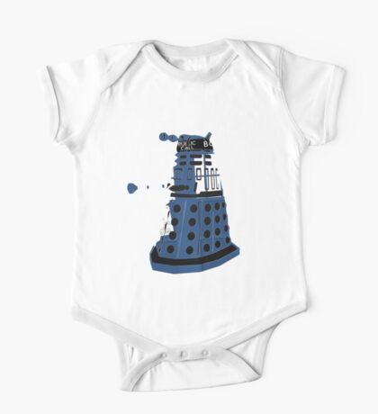 Tardis Dalek  One Piece - Short Sleeve