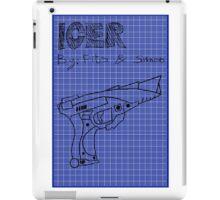 Icer Blueprint iPad Case/Skin