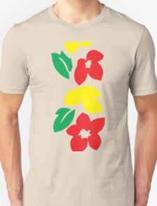 Rasta Flowers Unisex T-Shirt