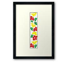 Rasta Flowers Framed Print
