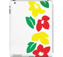 Rasta Flowers iPad Case/Skin