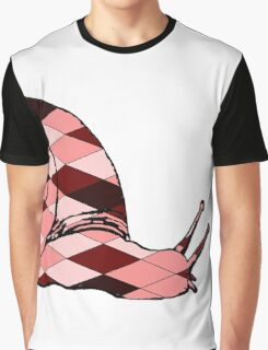 Red Snail Graphic T-Shirt