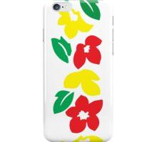 Rasta Flowers iPhone Case/Skin