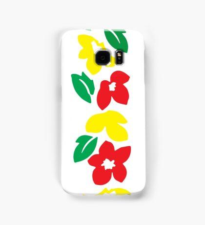 Rasta Flowers Samsung Galaxy Case/Skin